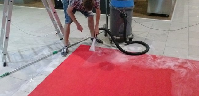 Hloubkové čištění koberců Brno